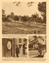 The Greenwich observatory. Prime Meridian. Telescope 1926 old vintage print